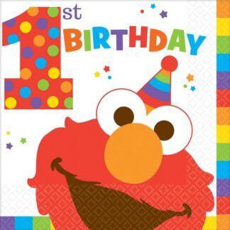 Sesame Street Elmo Turns One