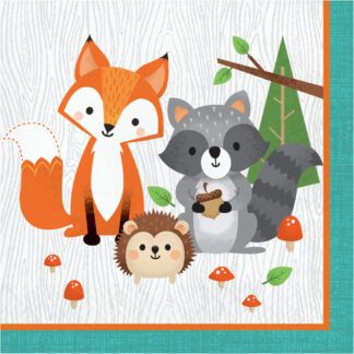 Wild One Woodland Animals