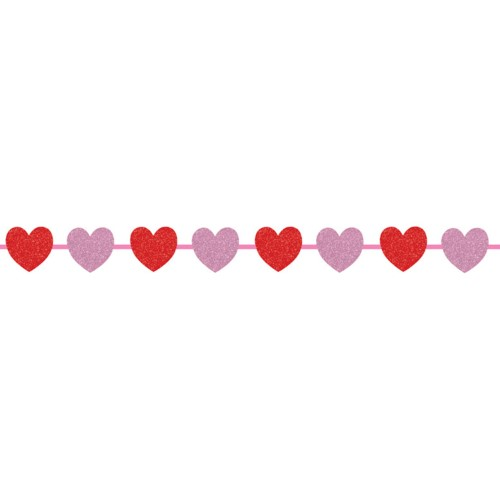 Heart Garland Valentine's Day Party Supplies
