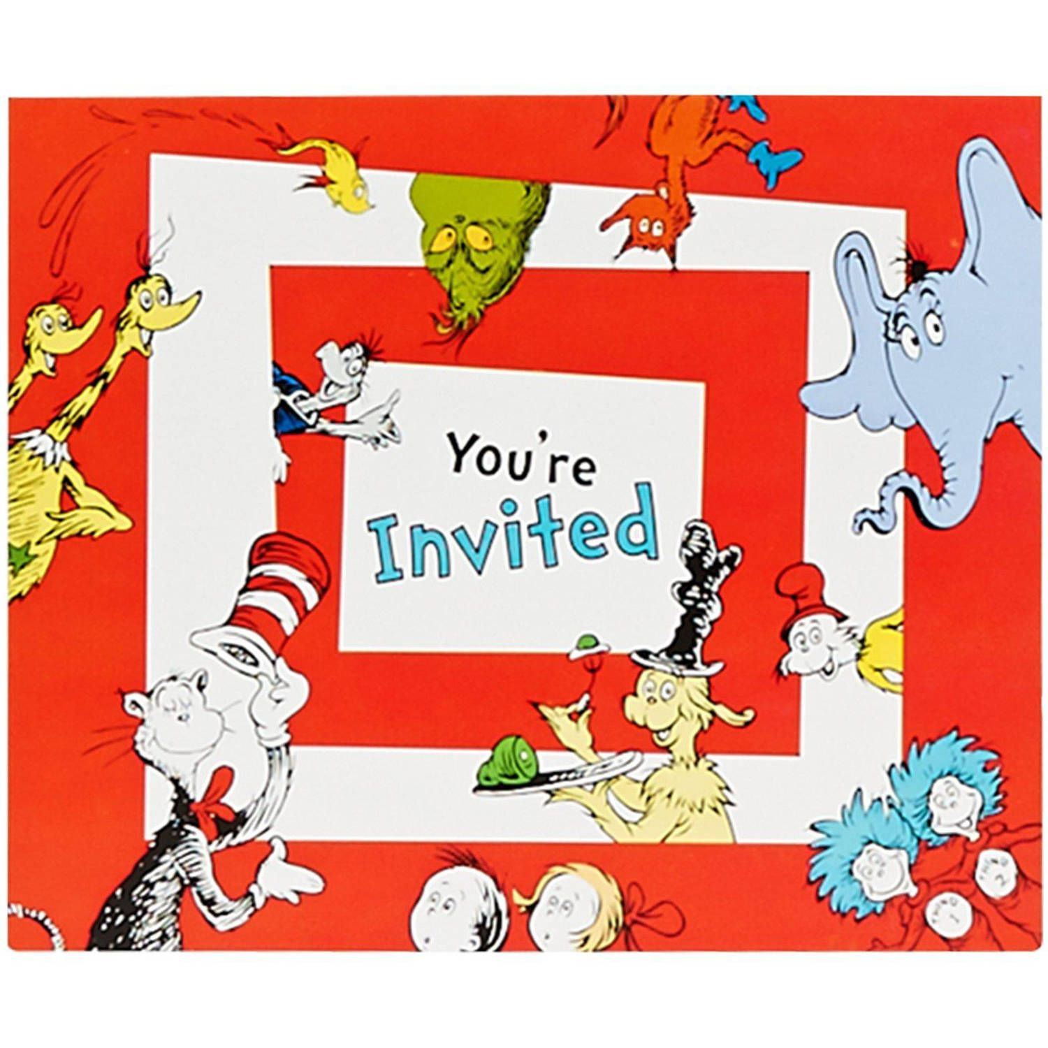 Dr Seuss you're invited
