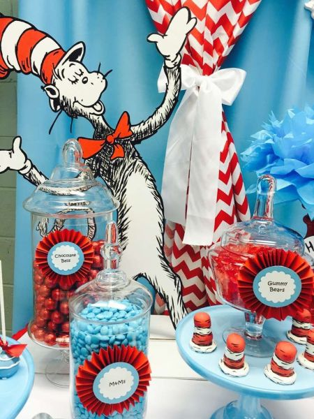Cat in the hat candy bar