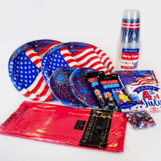 Party in a box Patriotic Combo