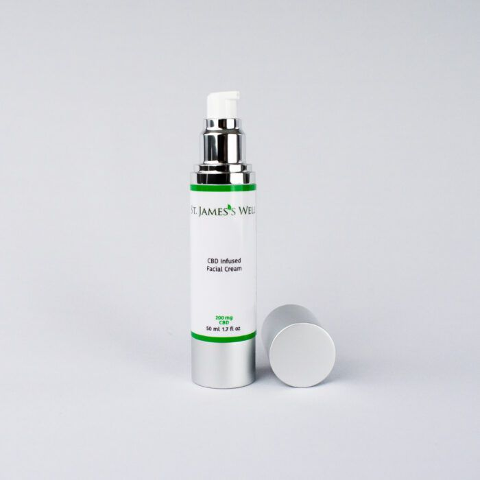 St. James's Well CBD Infused Facial Cream