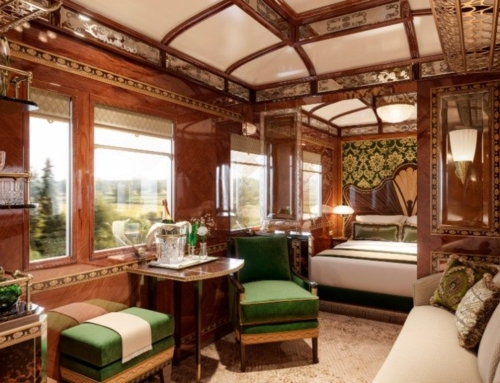 Is this the most luxurious train carriage in the world