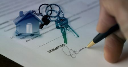 contract with keys