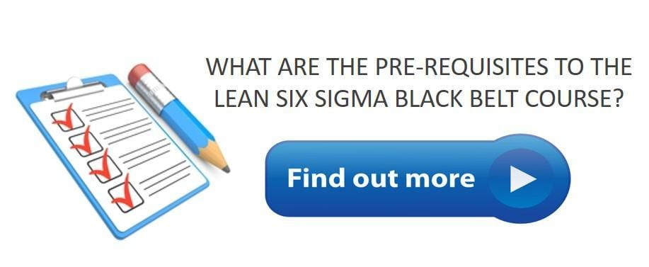 six sigma black belt certification