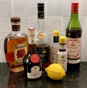Vieux Carre ingredients