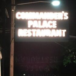 New Orleans Restaurants Commanders Palace