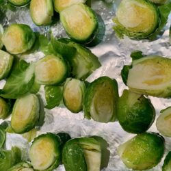 Sprouts ready to bake