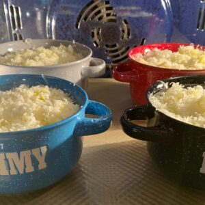 french onion soup baking
