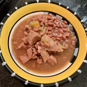 Red Bean Soup bowl