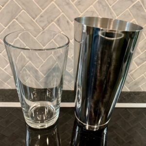 Boston cocktail shaker A