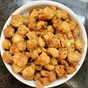 Fried Okra main