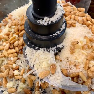 parm and pine nuts