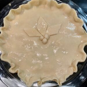 chicken pot pie unbaked