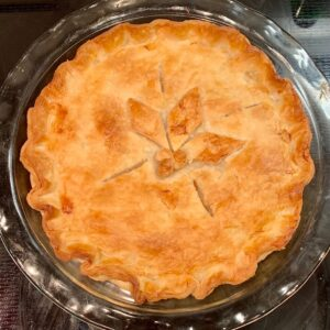 chicken pot pie baked