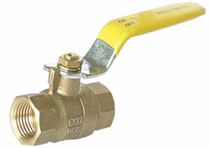 "Ball Valve-3/4""FxF,600PSI(WOG),100PSI(Steam),Full Port Brass"