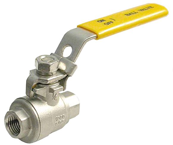 "Ball Valve-1/4""FxF,1000PSI(WOG),2Pce Full Port 316SS"