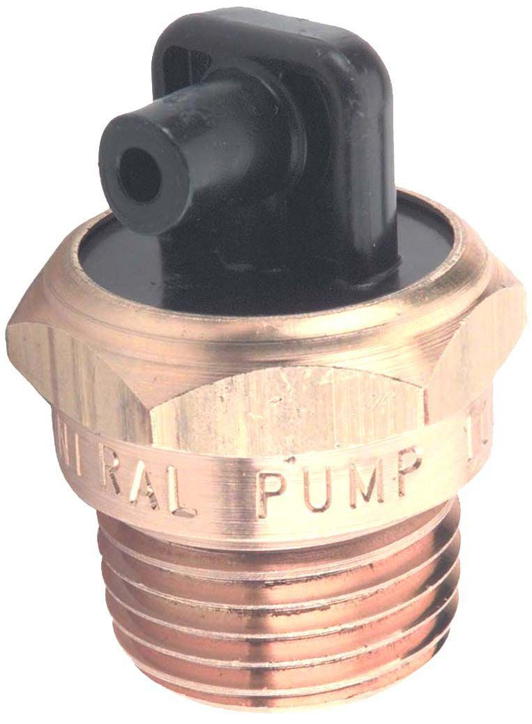 "Thermal relief valve-3/8""Mx1/4"", plastic barb, #100557"