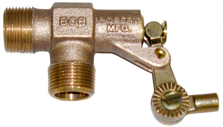 "Float valve-R400-1,68.5GPM, 1""Mx1""M"