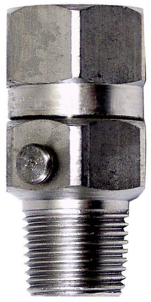 "3/8"" M x F Swivel-SS, Ball Bearing-3500PSI,180˚"