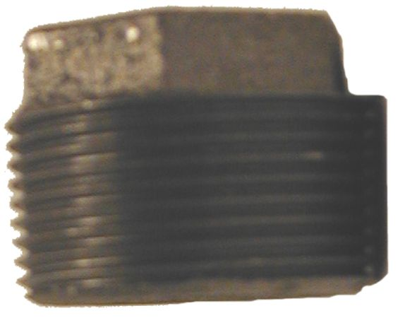 """Pipe bushing-HP,1 1/4""""Mx1/2""""F,forged steel, hex head"""