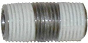 "Close pipe nipple-1/2"" #316L SS, Sch 80,heavy duty"