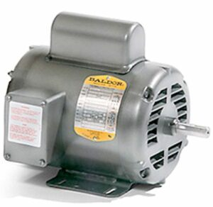 "Electric motor-5HP, 208/230V/1PH/60HZ, 1725 RPM,184T frame,1 1/8"" shaft,ODP"