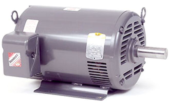 "Electric motor-15HP, 230/460V/3PH/60HZ, 1760 RPM,254T frame,1 5/8"" shaft,ODP"