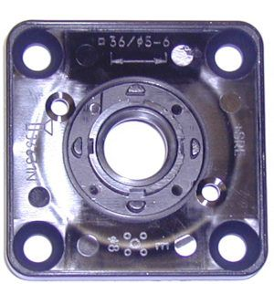 Cam switch kit-escutcheon plate frame