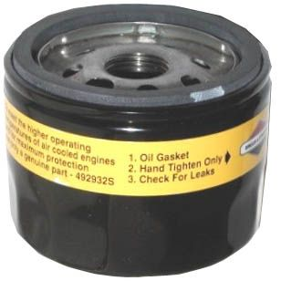 "Oil filter-short(2 1/4"") to replace #492932S/#842921"