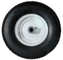 "Tire and rim assembly - 13""H x 5""W x 6"" Dia Rim (Urethane Solid)"