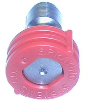 QC nozzle-8.0, 0° red