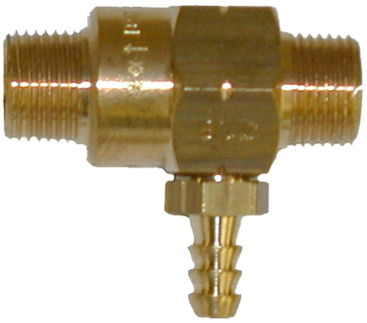Fixed Brass chem. Injector-2.1mm orifice #100511