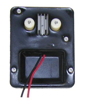 "12V igniter kit w/mounting plate ""rear hinge"""
