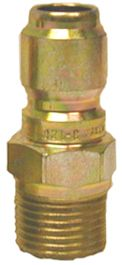 "Zinc quick connect plug-1/4""Mx1/4""MPT"
