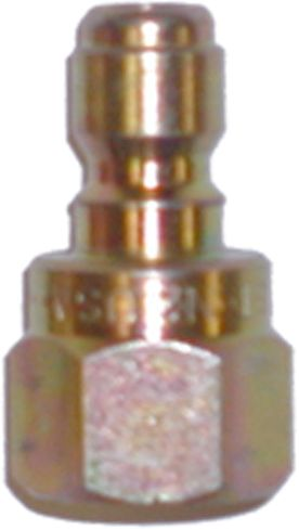 "Zinc quick connect plug-1/4""Mx1/4""FPT"