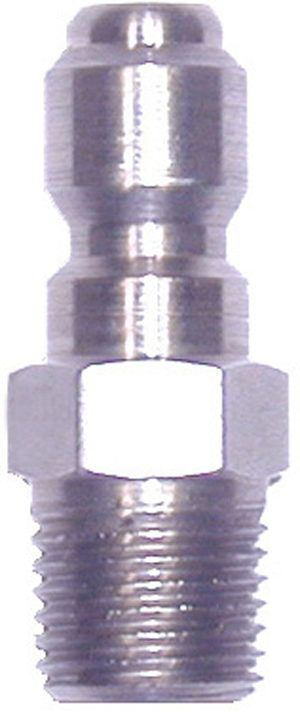 """SS quick connect plug-1/4""""Mx1/4""""MPT"""