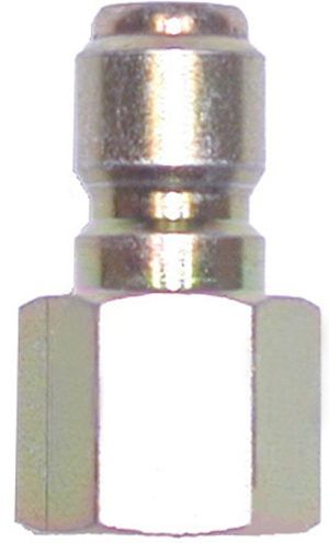 """SS quick connect plug-1/4""""Mx1/4""""FPT"""