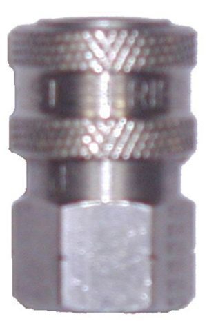 """SS quick connect socket-1/4""""Fx1/4""""FPT"""