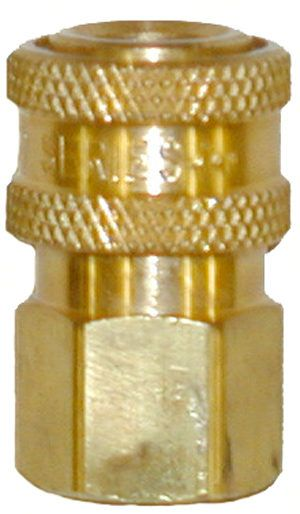 """Brass quick connect socket-1/4""""Fx1/4""""FPT"""