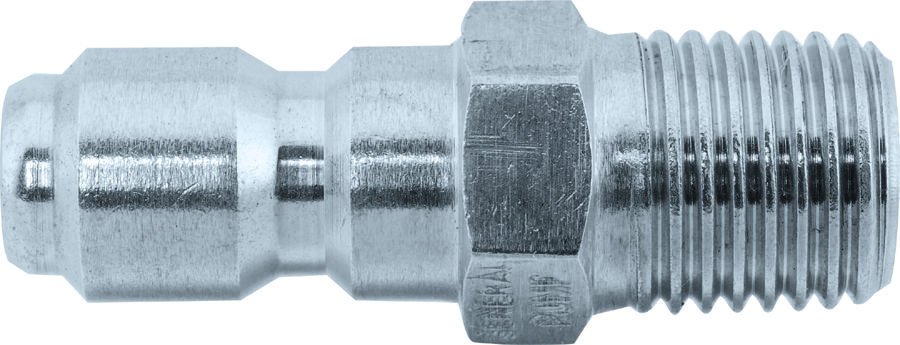 "SS quick connect plug-3/8""Mx3/8""MNPT"
