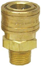 """Brass quick connect socket-3/8""""Fx3/8""""MPT"""