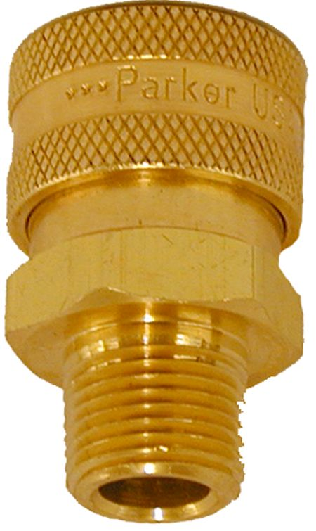"Brass quick connect socket-3/8""Fx3/8""MPT"