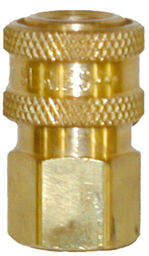 """Brass quick connect socket-3/8""""Fx3/8""""FPT"""