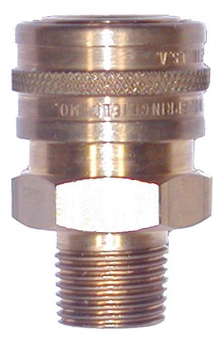 """Brass quick connect socket-3/4""""Fx3/4""""MPT"""