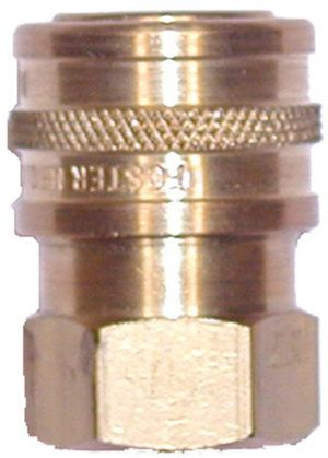 """Brass quick connect socket-3/4""""Fx3/4""""FPT"""