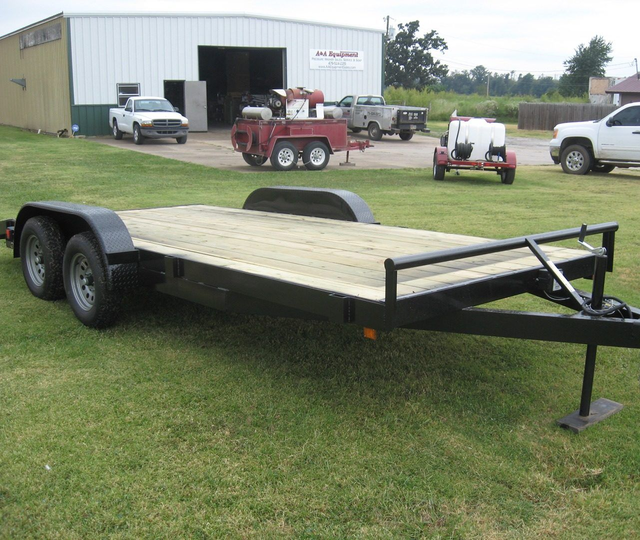 A&A Equipment trailer