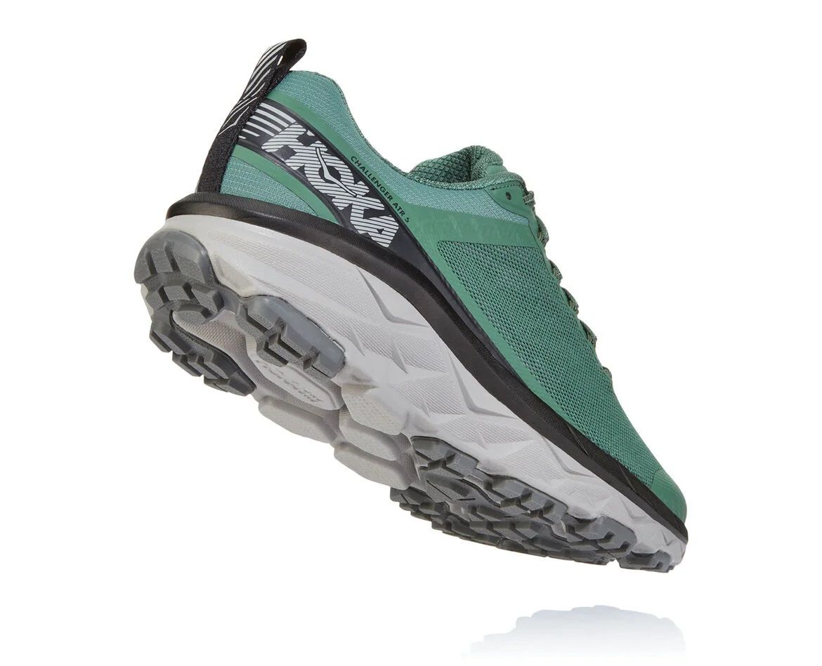Hoka One One Mens Challenger ATR 5 Myrtle Charcoal Grey Back