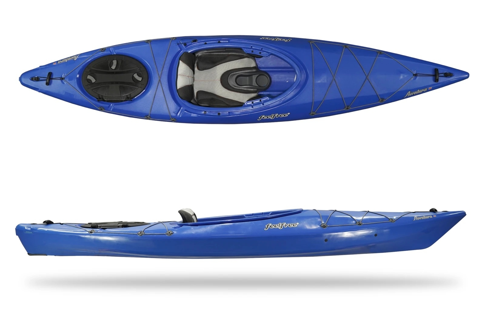 Feelfree Aventura V2 110 w/ Skeg Cobalt Blue